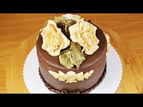 Шоколадная мастика! (!!!)