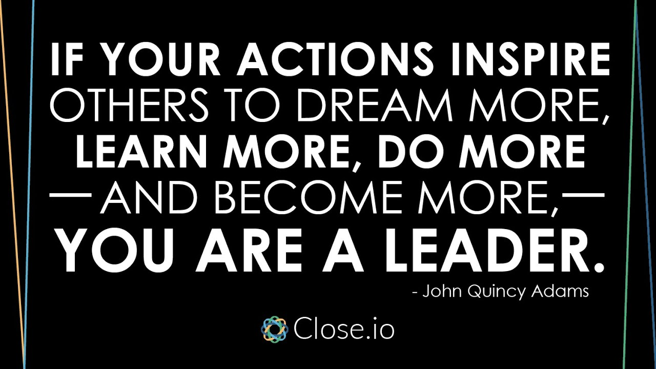 Quotes About Inspiring Others Sales Motivation Quote If Your Actions Inspire Others To Dream