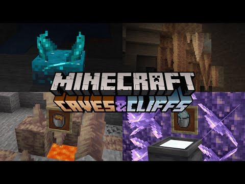 8 New things added in Minecraft 1.17 Caves & Cliffs Update