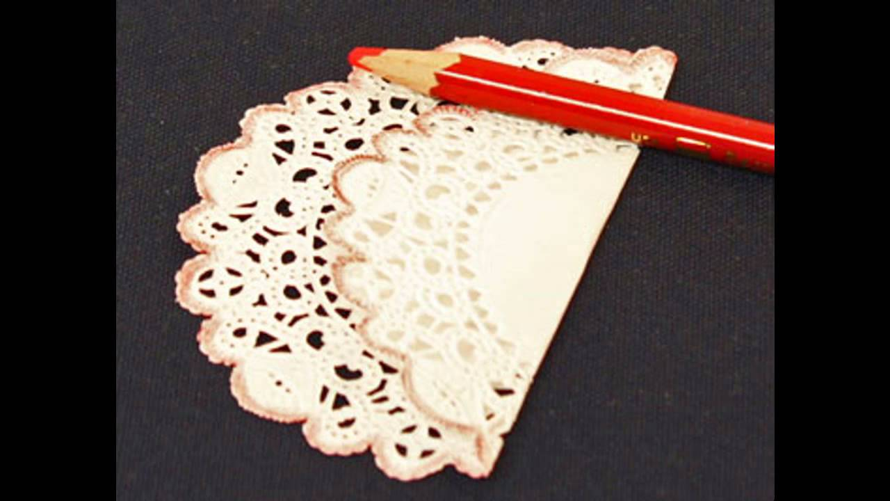 Easy Diy Paper Doilies Crafts Ideas Youtube