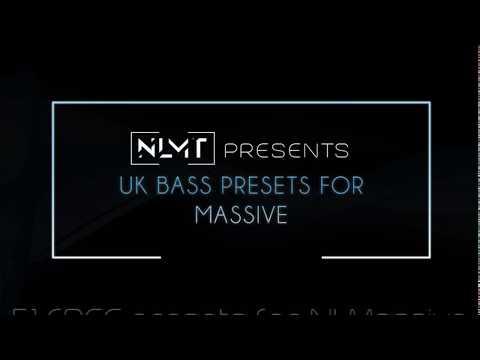 51 FREE UK Bass Presets for NI Massive