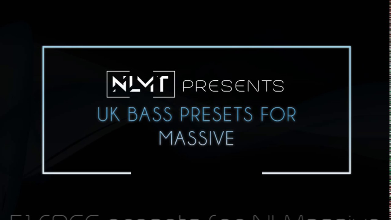 51 FREE UK Bass Presets for NI Massive