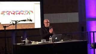 Brian Eno on art and music at the British Library 23/03/18
