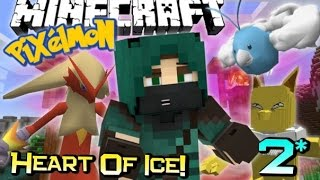 BUG GYM TROUBLES! | Minecraft PIXELMON Heart Of Ice Adventure! Custom Map Ep 2