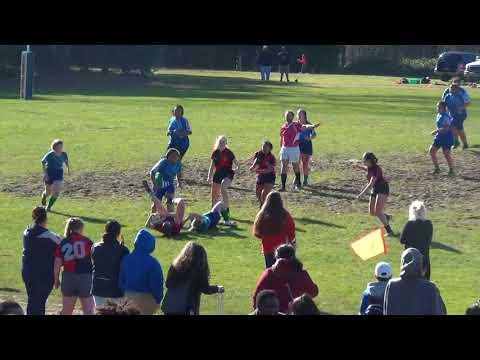 Lady Liberty Rugby 2018 Vs Rainier 3-3-2018
