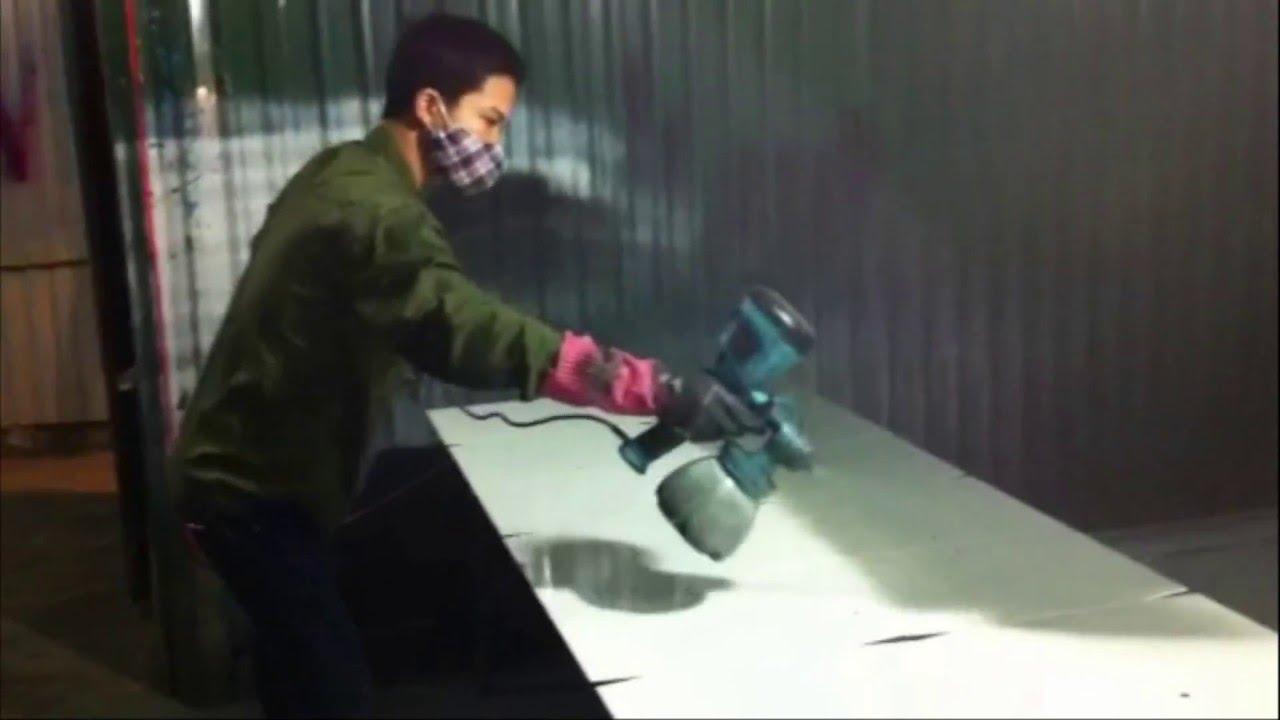 Kết quả hình ảnh cho phun sơn bằng máy nén khí