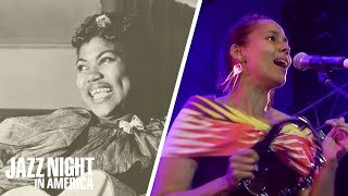 Rhiannon Giddens Perform 'Up Above My Head' In Honor Of Rosetta Tharpe