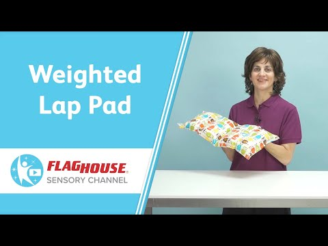 A Weighted Lap Pad That Washes Easily? (Ep. 6 - Weighted Washable Lap Pad)
