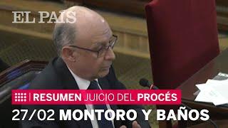 JUICIO DEL PROCÉS | Así fueron las declaraciones de MONTORO y BAÑOS