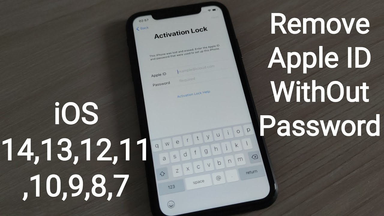 Permanently iCloud Unlock✔ Bypass iPhone Activation Lock 4,4s,5,5s,5c,SE,6,6s,7,8,X,Xs,XR,11,11Pro✔