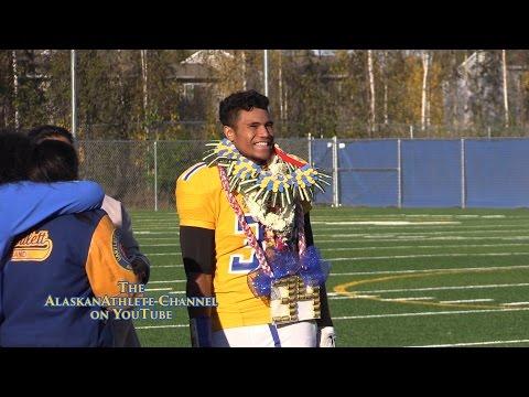 ETHAN FALANIKO!!! ~ SIZZLES!!! ~ 351 Yds, 5 TD's ~ Alaska Football