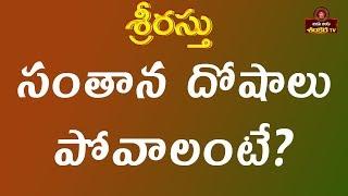 How to Overcome Santhanam Dosham || Srirastu || Shri tejaswi Sharma || Jaya Jaya Shankara ||