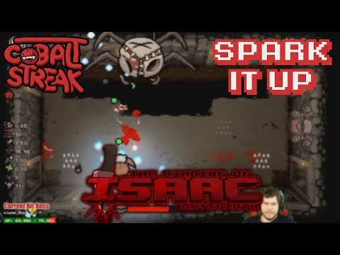 Back To Antibirth! #01 - Spark It Up - Cobalt Streak