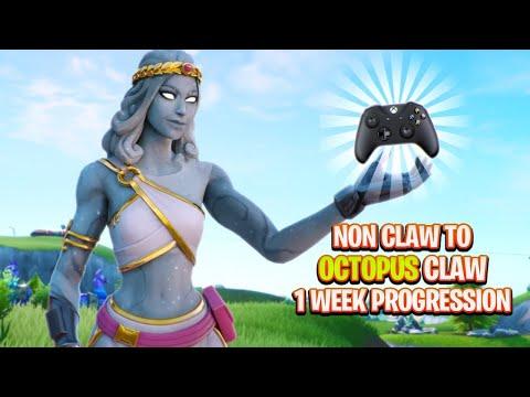 1 Week Progression Non Claw To Octopus Claw (Fortnite Season 11)