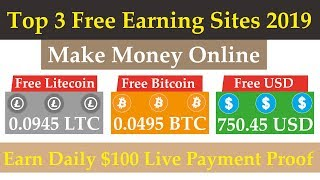 ... hi everyone today i tell you about top 3 free #btc #lite...