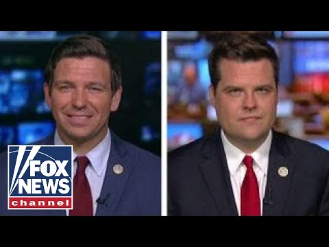 DeSantis And Gaetz On GOP Calls For Criminal Investigations