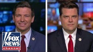 DeSantis and Gaetz on GOP calls for criminal investigations
