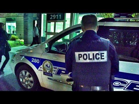 Patrouille nocturne à Laval