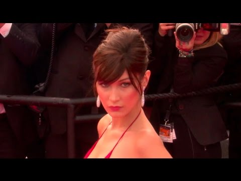 Bella Hadid and more arrive at The Unknown Girl (La Fille Inconnue) Cannes Premiere