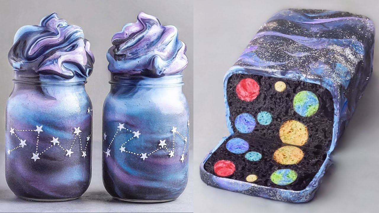 The Best GALAXY Cake Decorating In The World | Most Satisfying Cake Videos | Perfect Cake Recipes