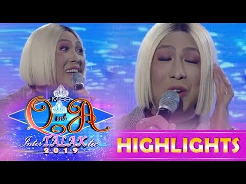 It's Showtime Miss Q & A: Vice Ganda's Funny Stint About Ms. Charo Santos-Concio