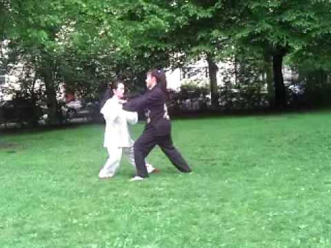 Tai Chi Push Hands 太极推手 von Xiaoling Röbbig-Reyes/Guo