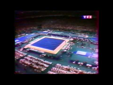 1996 Olympics Gymnastics women AA (French Tv coverage)
