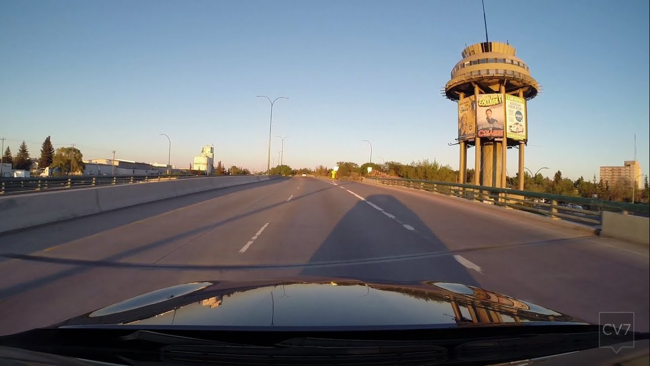 Highway 3 Crowsnest Hwy Through Lethbridge Ab Time Lapse