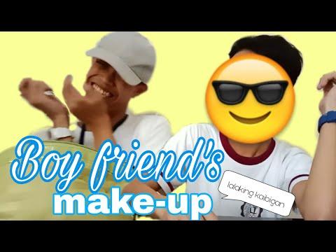 Boy Friend's make-up.   Cean Dimapilis