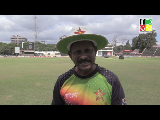 Zimbabwe coach Lalchand Rajput shares his thoughts ahead of the T20I series versus Pakistan