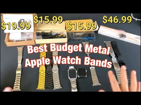 2019 Best Metal Budget Apple Watch Replacement Bands (Series 1,2,3,4,5 42mm & 44mm)