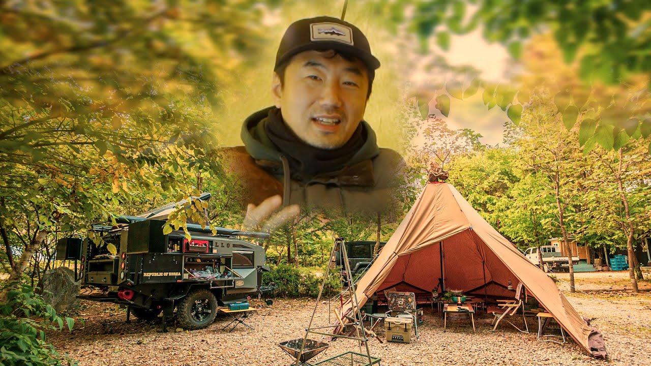 대배우 류승수형님과 함께 캠핑하면 좋은점, 새로운 랜턴 소개(장박 일기 ep.02)
