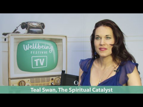 Teal  Swan and a message for Mel Carlile on Wellbeing Festival Tv