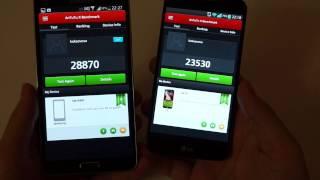 LG G2 vs Galaxy Note 3
