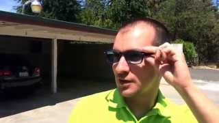 zenni Optical фотохромные очки. Photochromic glasses