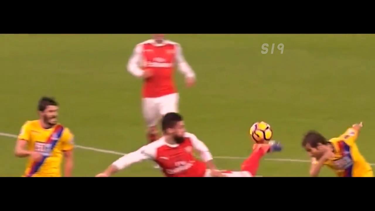 Download Olivier Giroud Scorpion Kick Goal vs Crystal Palace (Giroud Goal vs Palace 16/17)