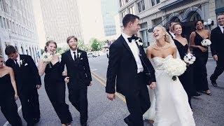Dresser Mansion black tie wedding {Tulsa wedding video}