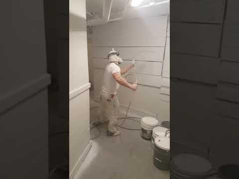 Paint Medics interior painting project