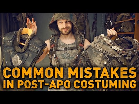 6 COMMON MISTAKES you probably make in post-apocalyptic costuming