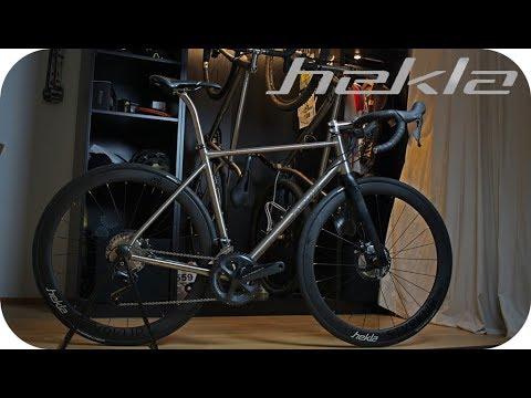 DREAM BUILD ROAD BIKE ► Hekla Helvíti Endurance (ASMR Bike)