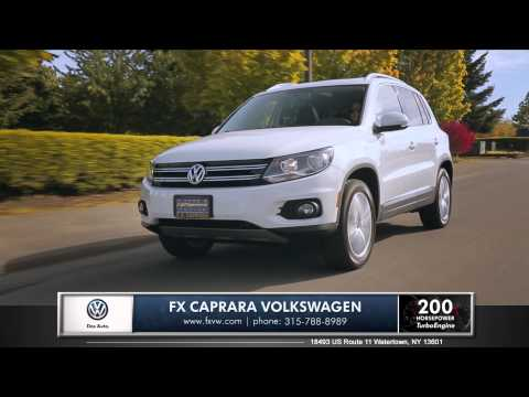 2015 Volkswagen Tiguan Review | FX Caprara Volkswagen in Watertown, NY