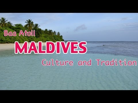 Maldives: Culture and Traditions shown in cultural dance in Baa Atoll