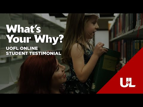 What's Your Why?: Julia's Story - Online Master's in Higher Education Administration