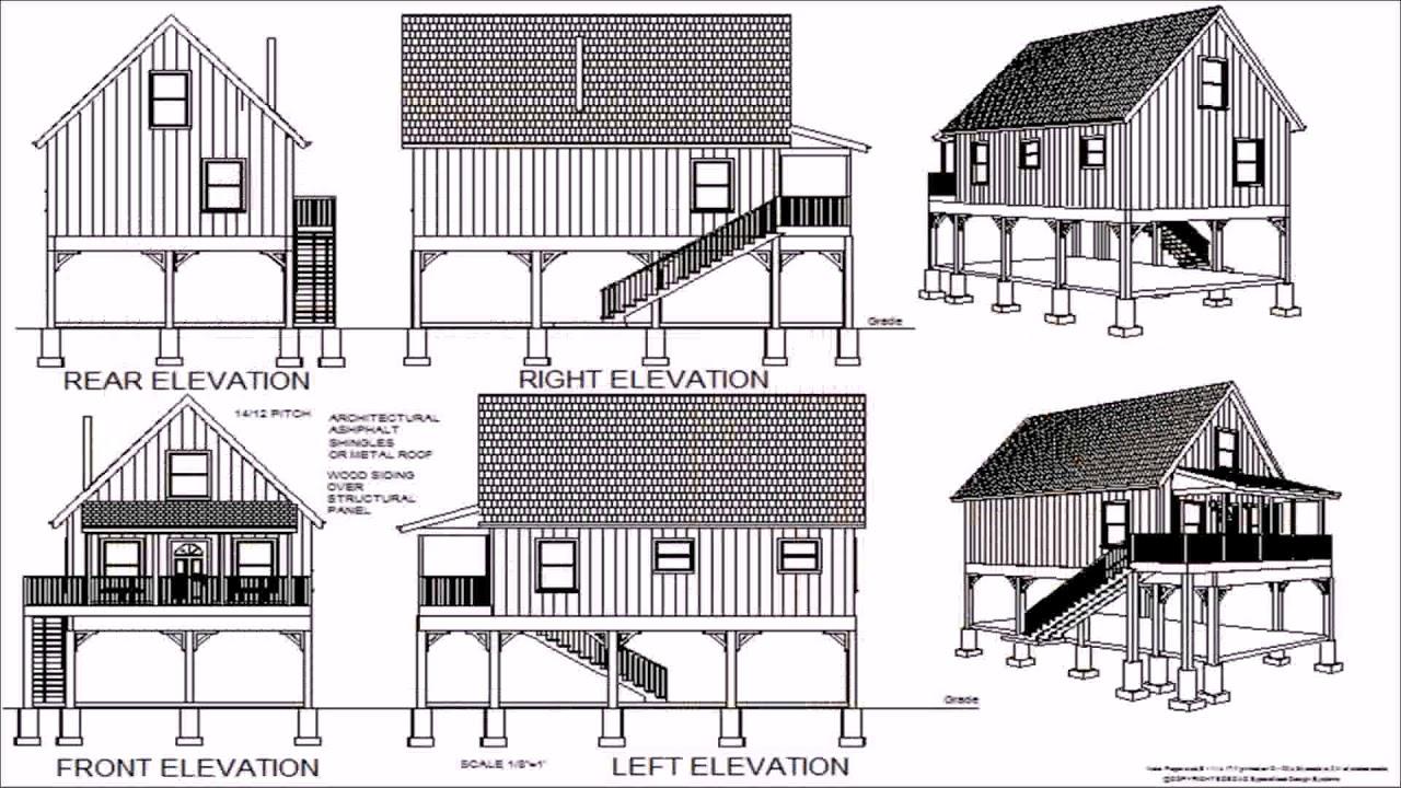 Free 24x24 Garage Plans With Loft YouTube – Free 24X24 Garage Plans