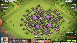 Clash of clans 99 % 2 stars