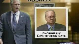 Bushed at Arlinton National Cemetery By Karl Rove With a Hard FISA
