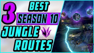 3 Best Jungle Routes  Clears For Season 10  Preseason 2020  League of Legends