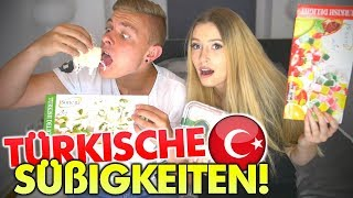 Türkische Süßigkeiten TESTEN mit Freundin! 🍭🍬🍫