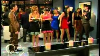 """Shake It Up! - """"Party It Up!"""" Supermodel Party Scene (""""You know, if I ate..."""")"""