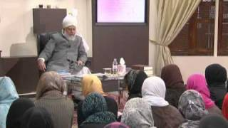 Gulshan-e-Waqfe Nau (Nasirat) Class: 16th October 2010 - Part 1 (Urdu)